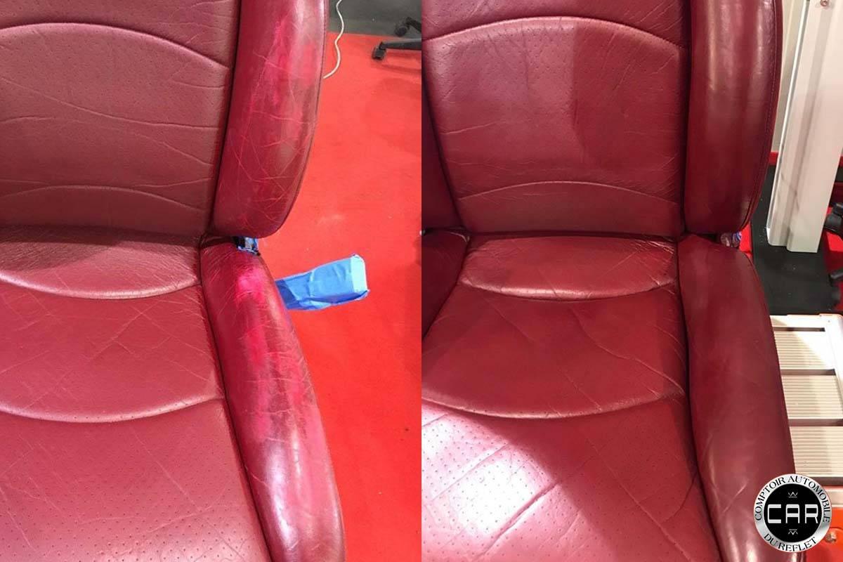 restauration de si ges int rieurs cuir pour cette auto de. Black Bedroom Furniture Sets. Home Design Ideas