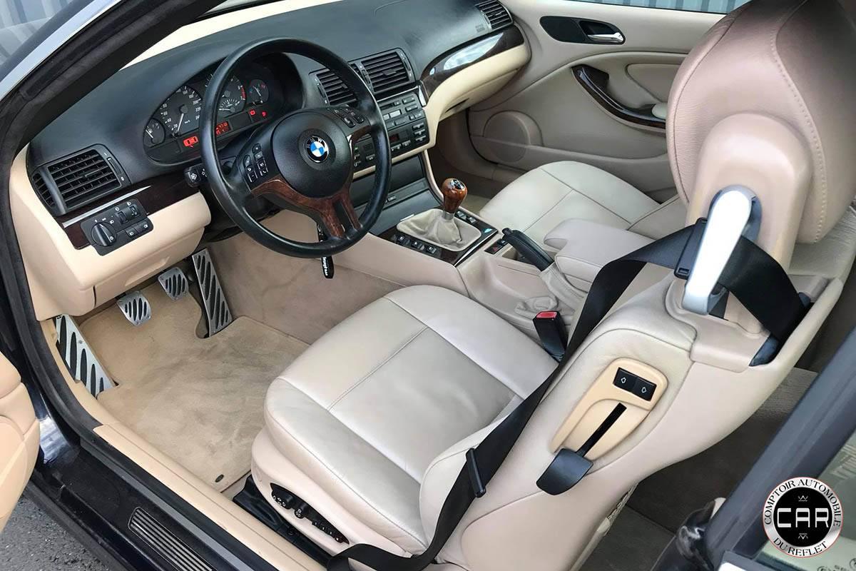 cuir interieur de voiture renovation et entretien pour cette bmw s rie 3 323ci e46 nettoyage. Black Bedroom Furniture Sets. Home Design Ideas