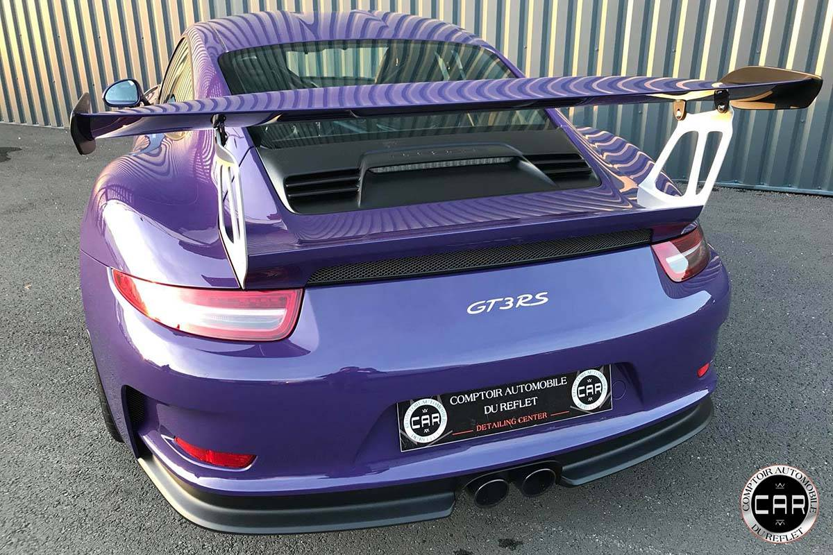 traitement ceramique sur cette porsche gt3rs nettoyage automobile de luxe bordeaux comptoir. Black Bedroom Furniture Sets. Home Design Ideas