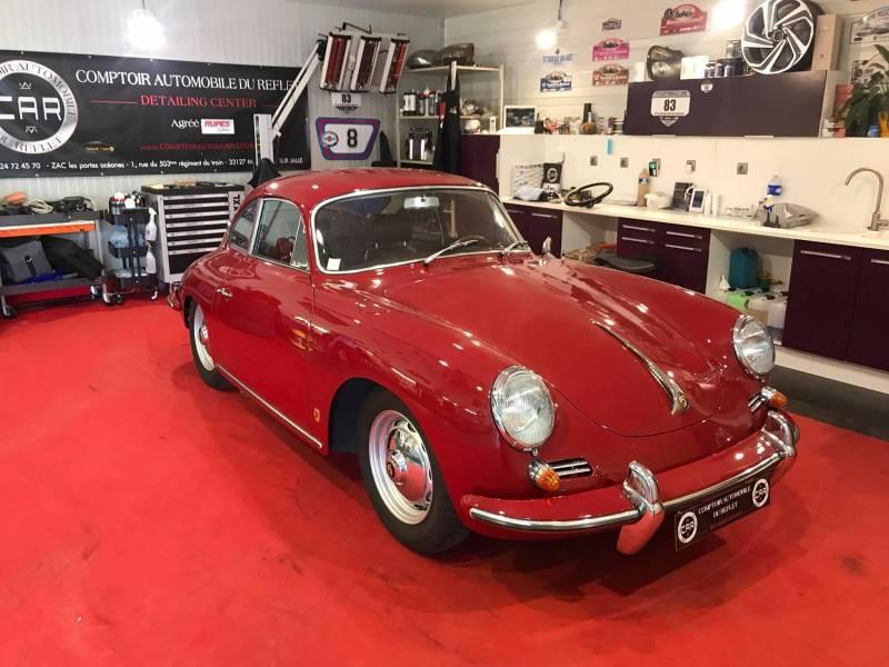 Traitement c ramic carrosserie porsche 356 sur bordeaux nettoyage automobile de luxe bordeaux - Le comptoir de la carrosserie ...